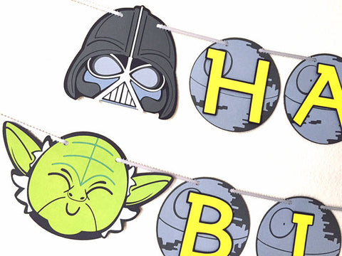 Star Wars birthday banner!