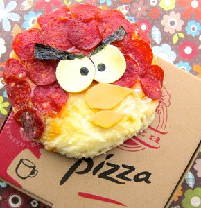 Red - Angry Birds Pizza