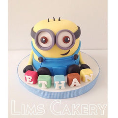 THE PARTY PROJECT | Blog - Minions party ideas Minions cake