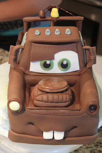 THE PARTY PROJECT | Tow mater 3d cake!