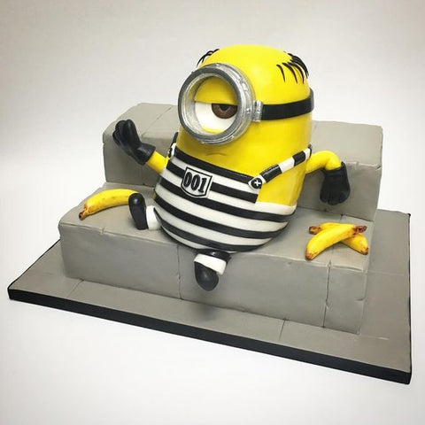 THE PARTY PROJECT | Blog - Minions party ideas Minion jail cake