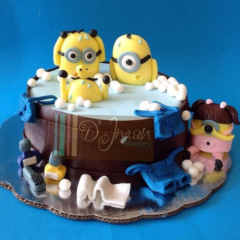 The party project blog | Minions cake ideas