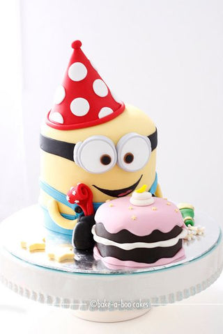 The party project blog - party ideas minion birthday cake