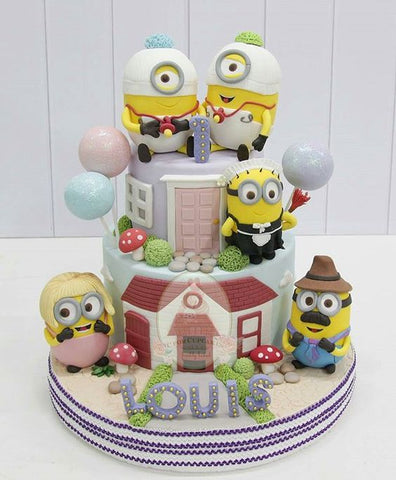 The Party Project | Minion cake idea family cake!