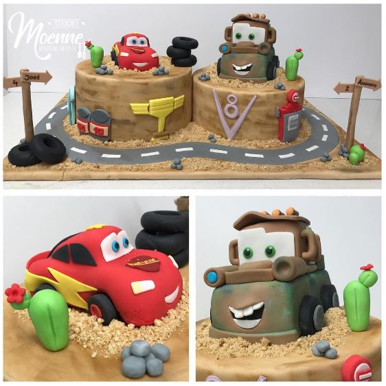 The Party Project | Cute Cars cake ideas!