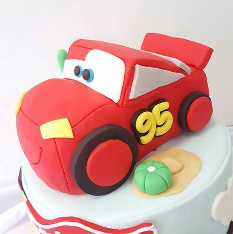 The Party Project | Cars party ideas - cake!