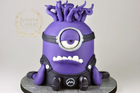 THE PARTY PROJECT | Blog - Minions party ideas Evil Minion cake