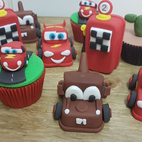 The Party Project | Cars characters chocolate figures!