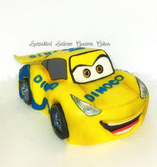 The Party Project | Cars 3 Cruz Ramirez cake!