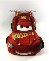 The Party Project | Lightning McQueen shaped cake