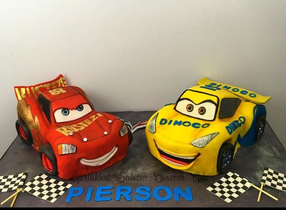 The Party Project | Cars 3d cakes - Lightning McQueen and Cruz Ramirez!