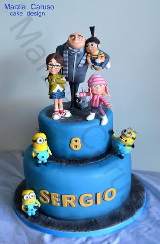 THE PARTY PROJECT | Blog - Minions party ideas Minions cakes