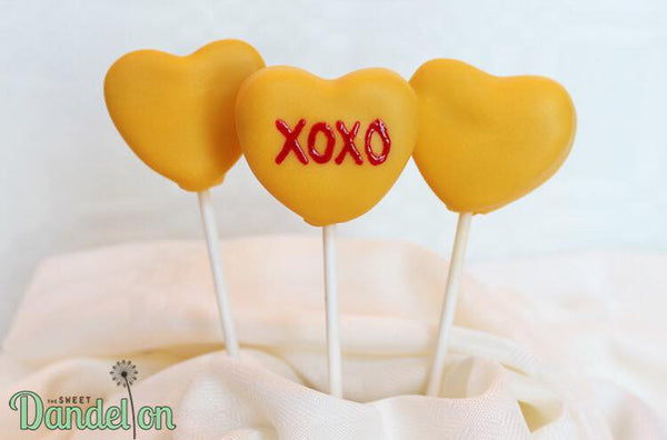 The Sweet Dandelion gourmet cake pops for any ocassions | Valentines Day gifts | themed party treats!