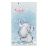 Cute Elephant Rug, Nursery Decorations