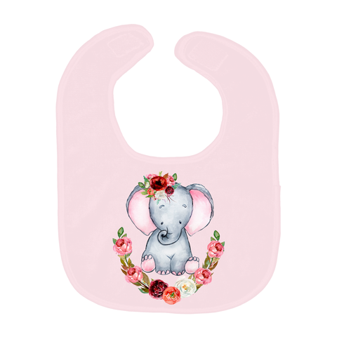Cute Elephant Baby Bibs, Baby Shower Gift