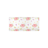 Pink Roses Changing Pad Cover, Unicorn Nursery Decor