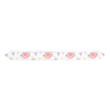 Pink Roses Infant Headbands, Reversible Girl Bow Knot