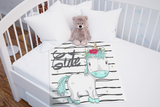 Cute Unicorn Baby Blanket | Unicorn Baby Bedding!