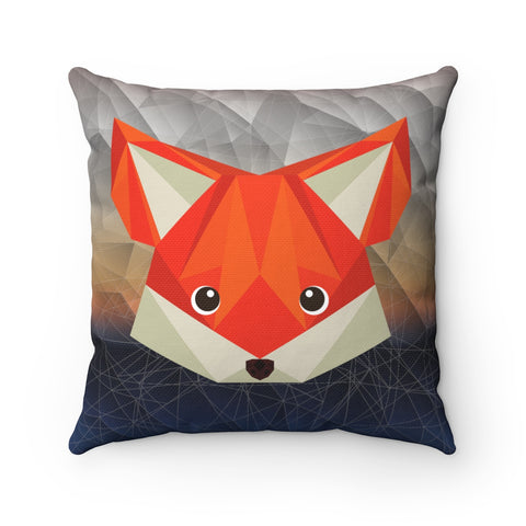 Decorative Pillow-Gift for her- Home Decorations- Dorm Decor-Animal Pillow-Cover Decorative Pillow- Fox Pillow-Gift for Her!