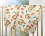 Slow Down Baby Blanket | Sloths Nursery Decorations!