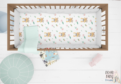 Fox Crib Sheets, Woodland Nursery