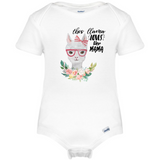 This Llama Loves Her Mama Baby Onesie®, Mothers Day Baby Clothes