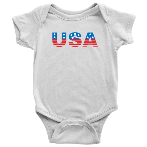USA Baby and Toddler Shirt, Patriotic Baby Clothes
