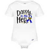 Daddy is My hero Baby Baby Onesie®, Father's Day Baby Clothes