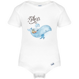 Happy Mothers Day Baby Onesie®,  Whale Mothers Baby Clothes