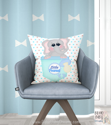 Baby Little Peanut Pillow | Baby Shower Gift!