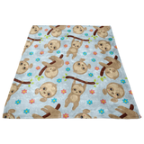 Gift Guide - Baby Lovey - Lovey Sloths - Security Blanket - Minky Lovey - Toddler Bedding - Sloth Baby Bedding - Sloth Nursery Bedding