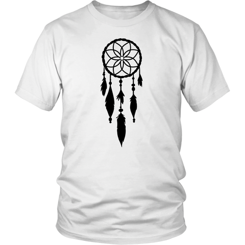 Native American Indian Dreamcatcher Shirt - Unisex Graphic Tee - Halloween T-shirt - Short Sleeve Men Halloween T-shirt - Halloween Clothes - Halloween Unisex Shirt -