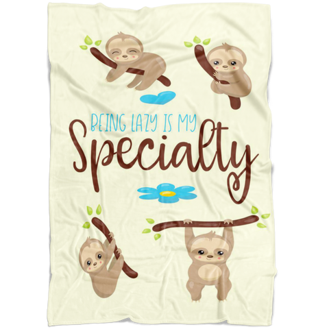 Sloth Baby Blanket | Baby Shower Gift | Birthday Gift | Newborn | Gender Reveal! |