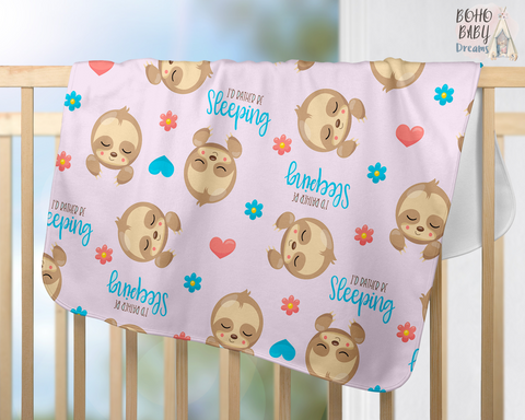 c79730f4772 Sloths Baby Clothes and Nursery Decorations