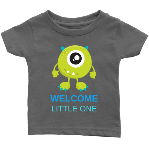 Welcome little one Baby T-shirt | Monsters New baby | Baby Shower Gift!