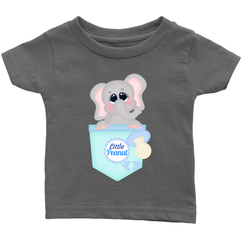Little Peanut Baby T-shirt | Cute Elephant Baby Graphic Tee!