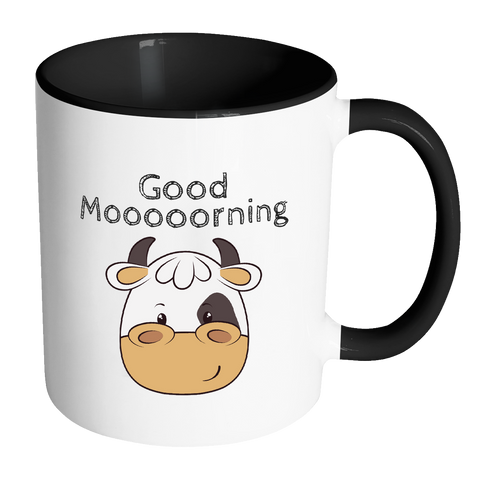 Cow mug | Good morning Mug | Kids mugs | Farm mug | Birthday gifts | Farm Mugs.