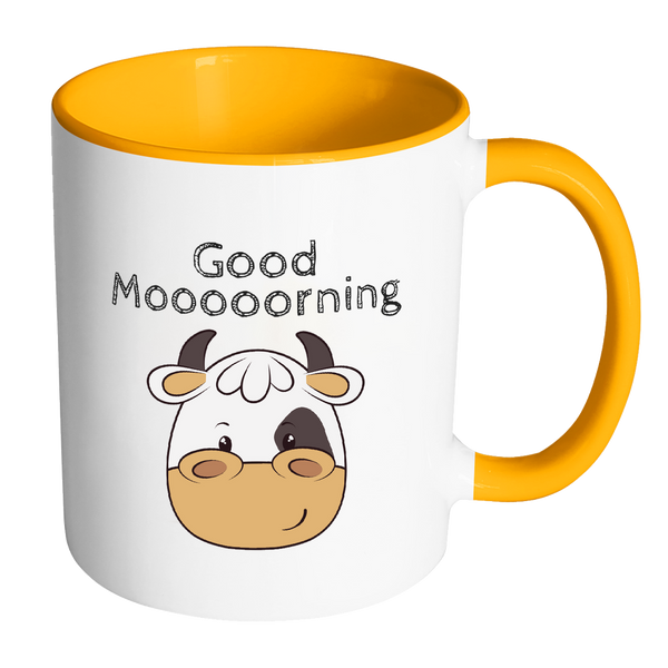 Cow mug | Good morning Mug | Kids Farm mugs | Farm Birthday gift Mugs