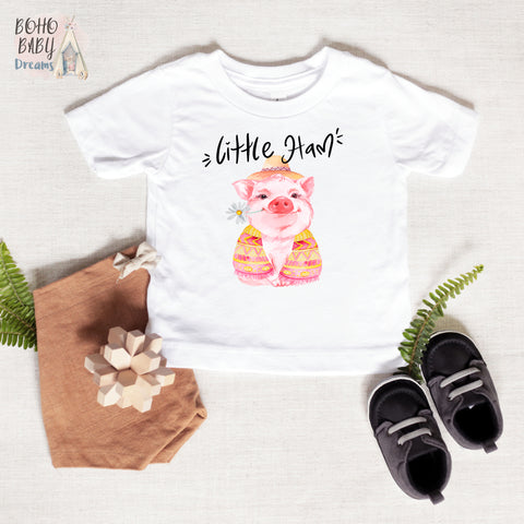 Little Ham Baby and Toddler T-shirt, Farm Baby Clothes