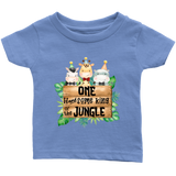 One Handsome King of the Jungle Baby Shirt, Safari Baby Clothes