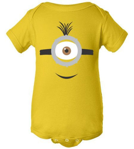 THE PARTY PROJECT | Minion baby onesie