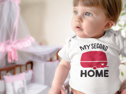 My second Home Onesie®, Camper Life Baby Clothes