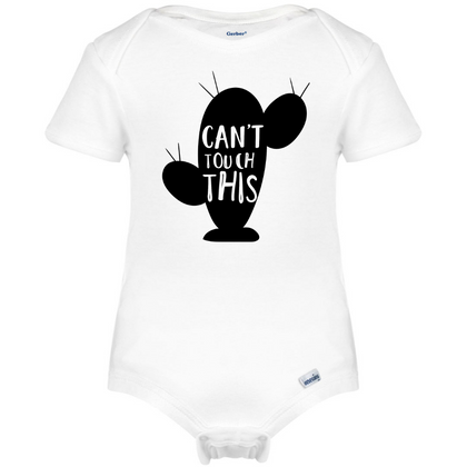 Can't Touch This Cactus Baby Onesie®, Hipster Baby Clothes