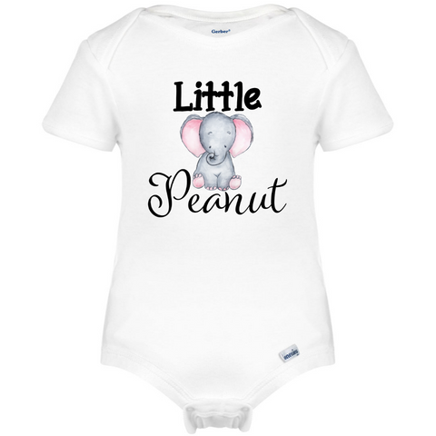 Little Peanut Baby Onesie®, Cute Elephant Baby Boy Clothes