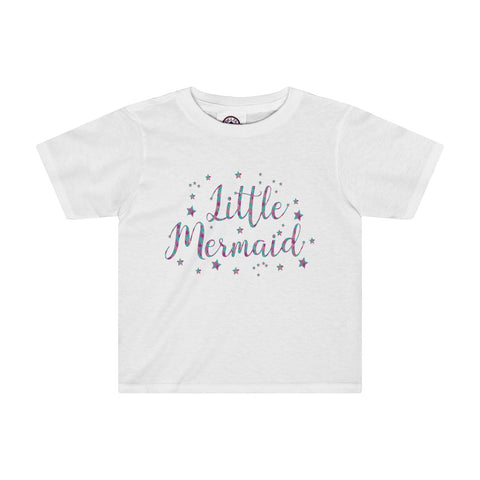 Glitter Scale Girl T-Shirt | Birthday Gift!