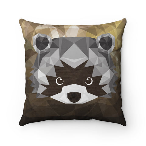 Decorative Pillow-Gift for her- Home Decorations- Dorm Decor-Animal Pillow-Cover Decorative Pillow-Room Decor-Gift for Her-Raccoon Pillow!