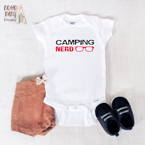 Camping Nerd Onesie®, Camper Life Baby Clothes