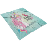 Beautiful Baby Blanket - Unicorn Baby Shower Gift!