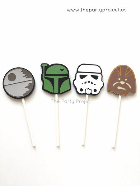 The Party Project | Star Wars party printables - cupcake toppers!
