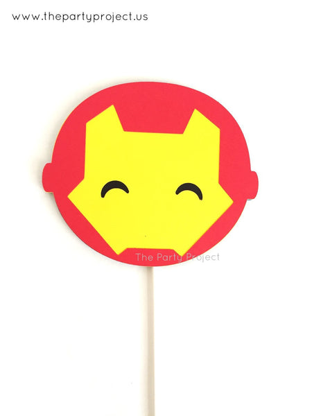 Iron Man centerpiece | Avengers nursery decoration | Comics book superhero party!